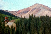 Buzzed 1990 JUL SW CO Rockies and old mine 01