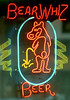 Buzzed 1990 Places Bear Whiz neon sign in Durango CO