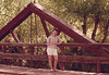 1960 CO Denver Pat on bridge south of town