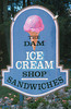 1991 NH Dam ice cream sign