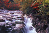 1991 NH Saco river morning rush along the Kancamagus scenic byway