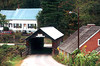 1991 VT Covered bridge, house and business