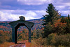 1991 VT Wolcott covered train bridge
