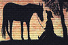 2010 TX Cowboy mosaic in Cold Spring