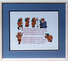 Craft-1987/08 Teddy Bear Cross stitch.