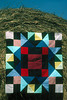 1990/08 Quilts of Bear Creek kaleidoscope pattern and block.