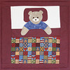 2012/03 Minis for Toddlers Teddy bear in bed