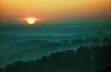 AR 1992 Eureka Springs Pig tail sunrise