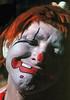 CO 1960 Denver clown at Elitches Gardens amusement park
