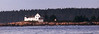 ME 1996 Bar Harbor small lighthouse in Frenchmens Bay