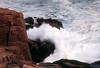 ME 1996 Acadia crashing waves near Thunder Hole