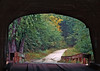 ME 1987 Freyburg looking out of the Hemlock bridge in autumn