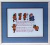 Craft-1987/08 Teddy Bear Cross stitch.